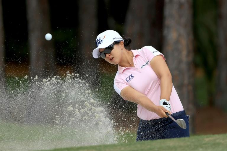 Kim Sei-young will defend a one-shot lead heading into the final round of the season-ending LPGA Tour Championship in Florida