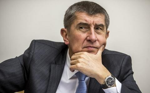 Andrej Babis, the Czech prime minister, denies a conflict of interest - Credit: Martin Divisek/Bloomberg