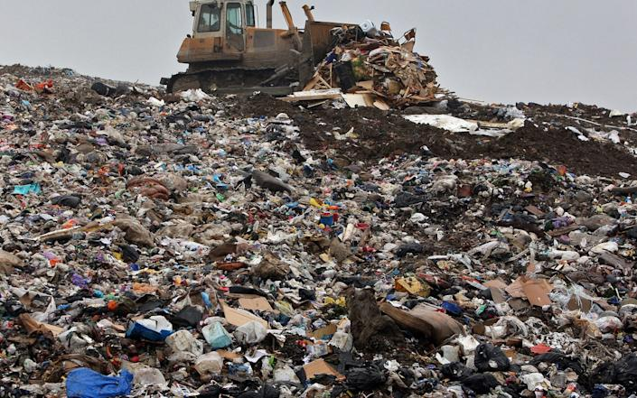 """Chesterfield Borough Council disposed of 574 tonnes of kerbside recycling as a """"temporary measure"""" - GETTY IMAGES"""