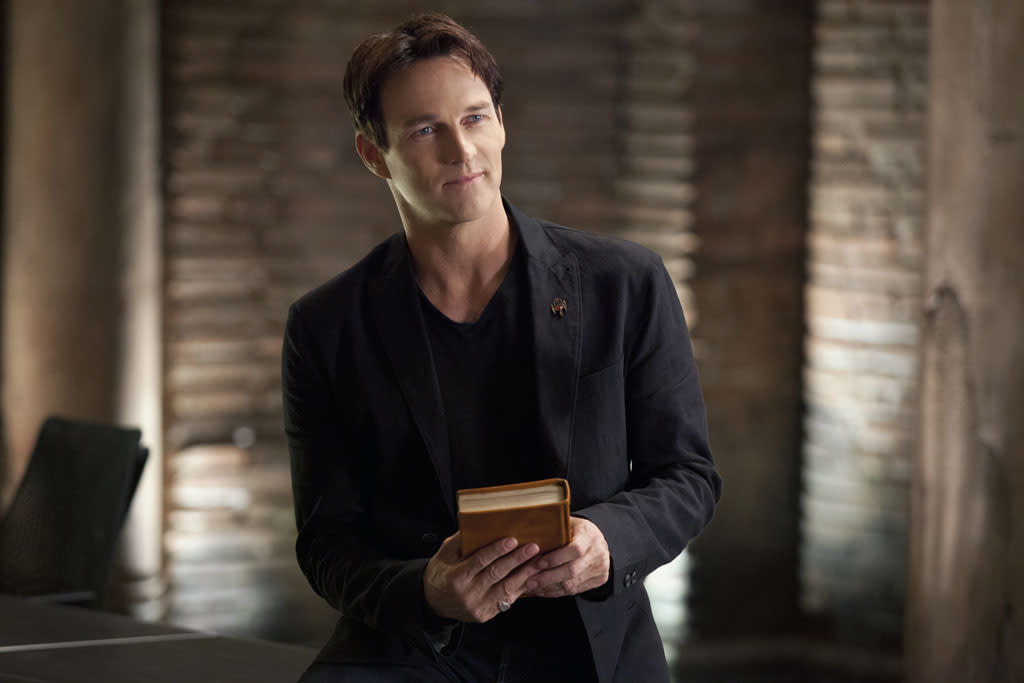 "Stephen Moyer in the ""True Blood"" episode, ""Gone, Gone, Gone."""