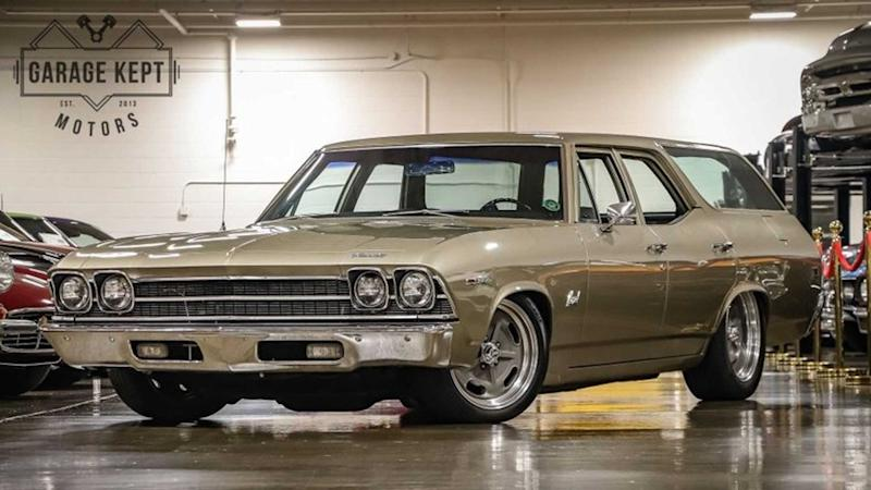 Adventures Await In This 1969 Chevrolet Chevelle Nomad Wagon
