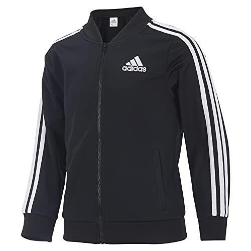 """<p><strong>adidas</strong></p><p>amazon.com</p><p><strong>$33.75</strong></p><p><a href=""""https://www.amazon.com/dp/B096YJJ5C6?tag=syn-yahoo-20&ascsubtag=%5Bartid%7C2089.g.37608168%5Bsrc%7Cyahoo-us"""" rel=""""nofollow noopener"""" target=""""_blank"""" data-ylk=""""slk:Shop Now"""" class=""""link rapid-noclick-resp"""">Shop Now</a></p><p>Apparently, all I needed to know about this jacket is that my daughter wants one because they wear it on <em>High School Musical: The Series</em>, like """"All, the time. Sometimes, it's the shiny one, but yeah, Mama, this coat is cool.""""</p><p>It's a light layering jacket, and honestly, you've probably owned something similar. </p><p><strong>More: </strong><a href=""""https://www.bestproducts.com/fashion/g1969/womens-fall-jackets-coats/"""" rel=""""nofollow noopener"""" target=""""_blank"""" data-ylk=""""slk:Moms, Shop for a Fall Coat Your Yourself"""" class=""""link rapid-noclick-resp"""">Moms, Shop for a Fall Coat Your Yourself</a></p>"""