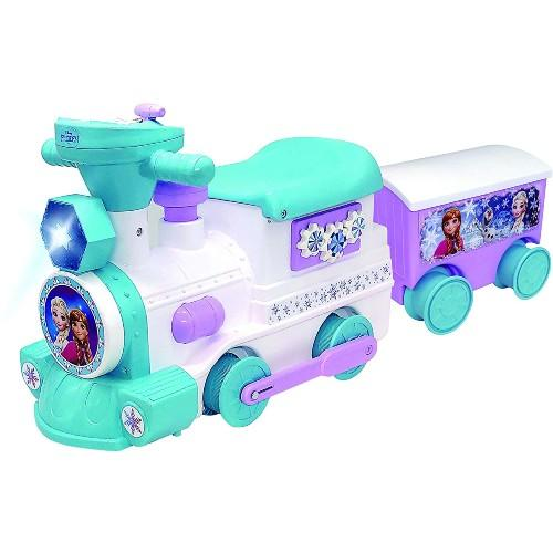 Disney 2-in-1 Battery-Powered Frozen Train with Caboose & Tracks. (Photo: Amazon)