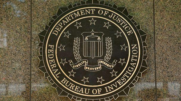PHOTO: The FBI seal is seen outside the headquarters building in Washington, DC on July 5, 2016. (Yuri Gripas/AFP/Getty Images)