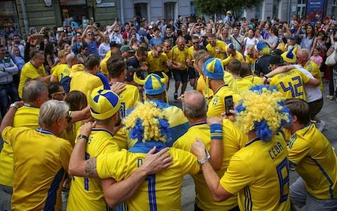 Sweden fans - Credit: reuters