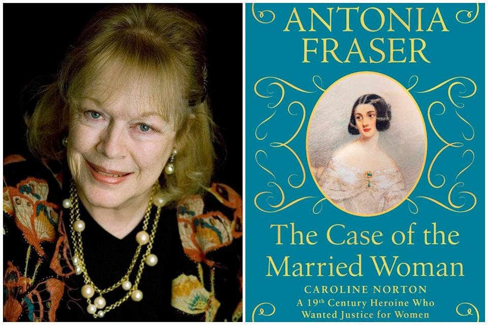 <p>Antonia Fraser / The Case of the Married Woman</p> (W&N)