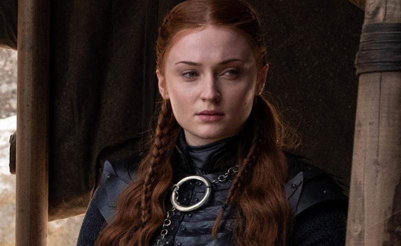 All the Hidden Meanings in Sansa's   Game of Thrones Finale Dress