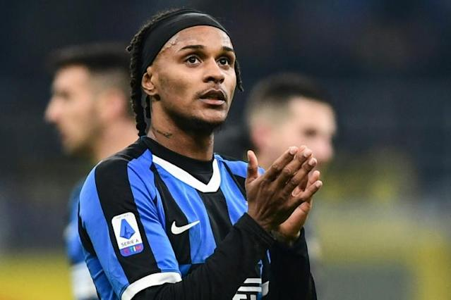 Newcastle have signed Valentino Lazaro on loan from Inter Milan (AFP Photo/Miguel MEDINA)