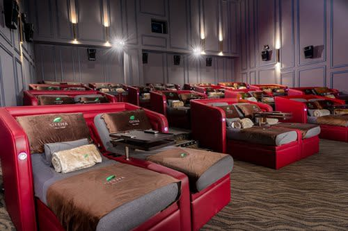 GSC invites cinema patrons to be at their comfiest in this new ultra-luxe cinema.