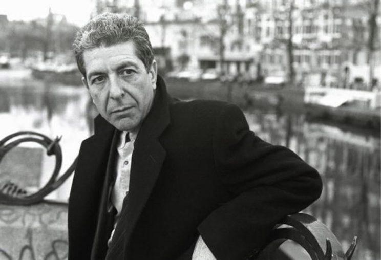 Leonard Cohen recites