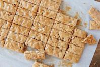 """<p>These spiced cookie bars are an essential part of a German Christmas. They are an excellent make-ahead sweet; in fact, they get more tender and flavorful the longer they sit. <a href=""""http://www.foodandwine.com/recipes/basler-leckerli"""" rel=""""nofollow noopener"""" target=""""_blank"""" data-ylk=""""slk:Get the Basler Leckerili recipe on Food & Wine"""" class=""""link rapid-noclick-resp""""><b>Get the Basler Leckerili recipe on Food & Wine</b></a>. (<i>Photo: Food & Wine)</i><br></p>"""