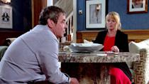 <p>He tells Jenny about his past, including how he was the getaway driver in the original robbery years ago. Jenny is appalled.</p>