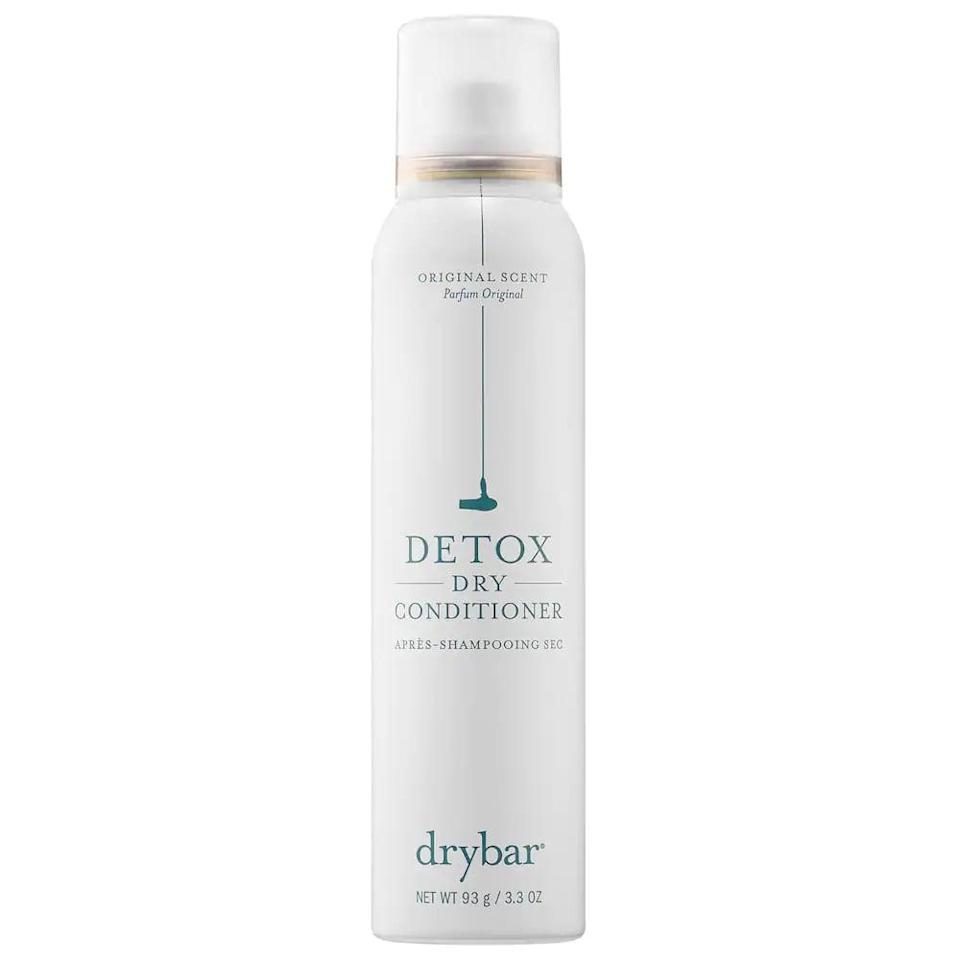 <p>Revive your second day (or third day) dry ends with the nourishing <span>Drybar Detox Dry Conditioner</span> ($23).</p>