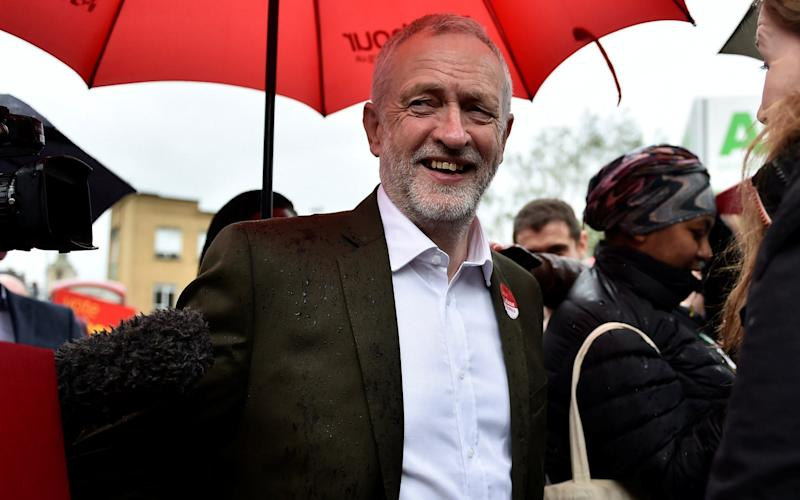 Jeremy Corbyn, the Labour leader - REUTERS