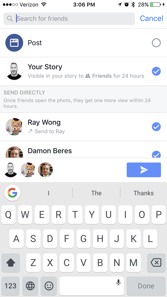 Rando friends can see your Facebook Stories and you can't
