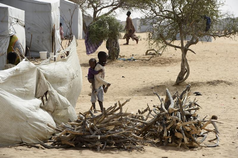 Chad is one of several countries battling the Boko Haram jihadist insurgency, which has driven thousands from their homes and plunged areas into hunger and poverty (AFP Photo/PHILIPPE DESMAZES)