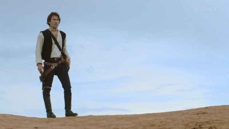 Jamie Costa stars as Han Solo in his crowdfunded fan film. (Photo: Jamie Costa)