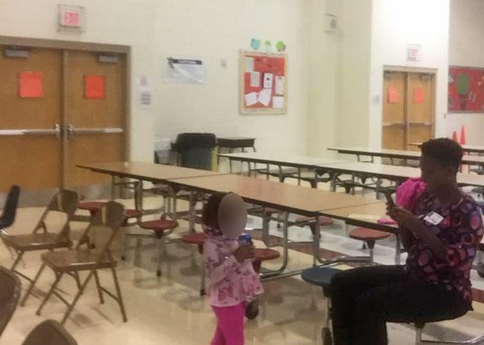 A concerned mother filed a police report after spotting a 3-year-old girl drinking beer at a school event in Charlotte, N.C. (Photo: Ayesha Wheeler/Facebook)