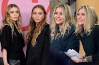 <p>The Olsen twins are known for their barely-there smiles, which, of course, are just as identical as they are.</p>