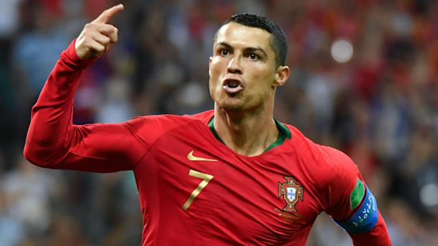 The Real Madrid star scored a hat-trick for Portugal against Spain - the eighth straight tournament he has netted in - but that isn't an all-time high