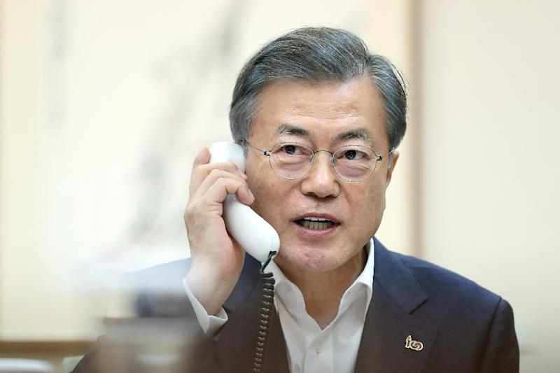 South Korean President Moon Jae-in has adopted a dovish approach to Pyongyang and brokered the US-North Korea talks process