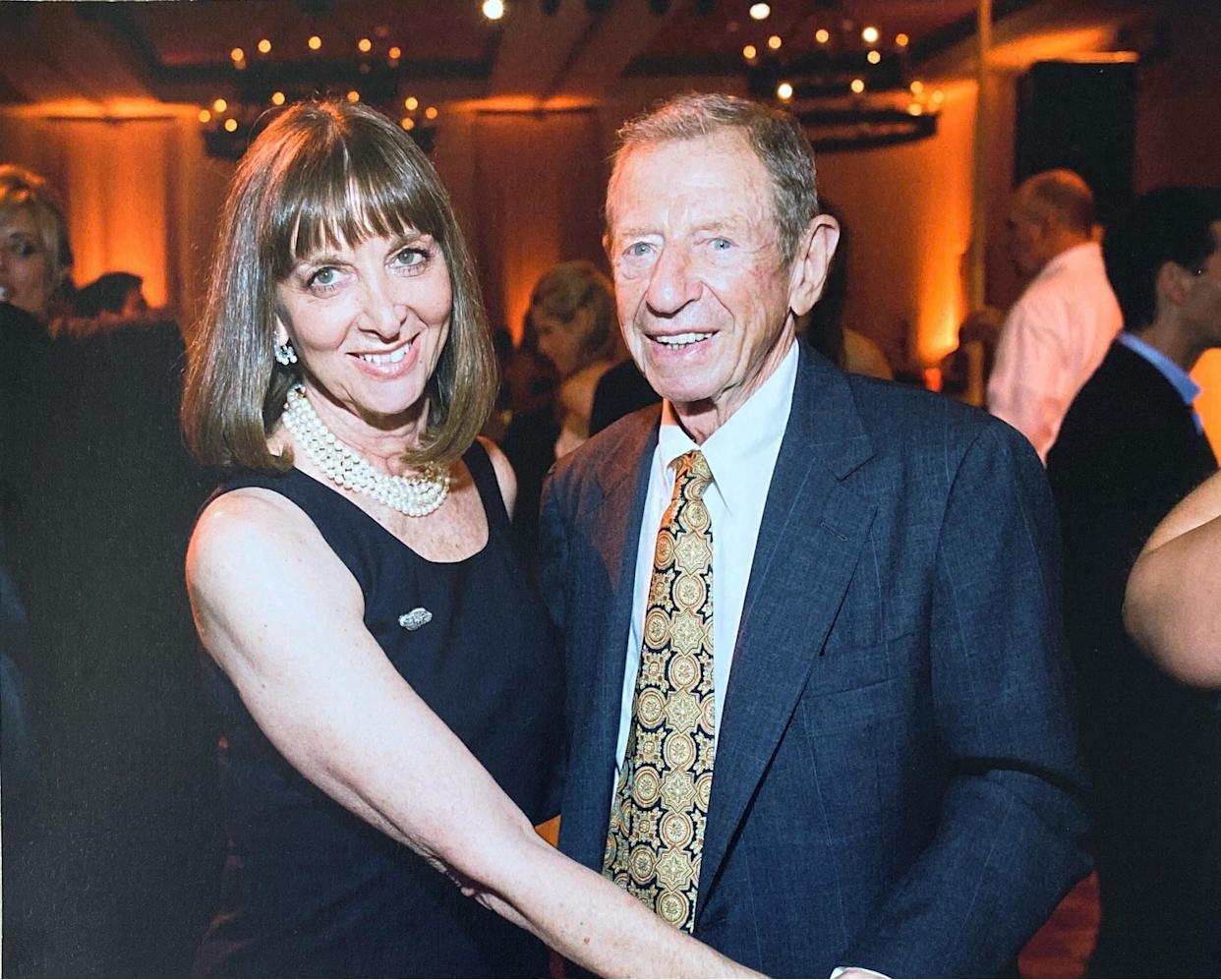The author and her husband. (Photo: Courtesy of Janet Albaugh)