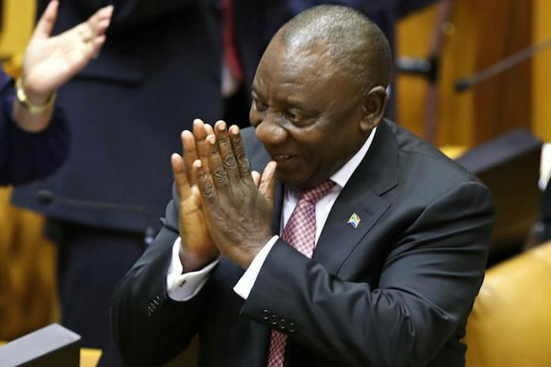 South Africa Lawmakers Re-elect Cyril Ramaphosa as President Two Weeks After ANC Returned to Power