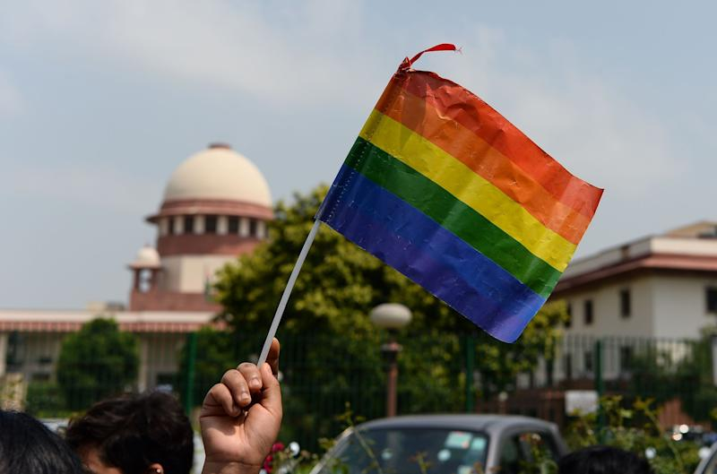India's Supreme Court decriminalised gay sex in a historic ruling: AFP/Getty Images