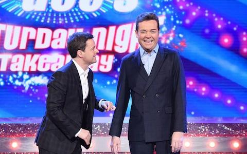 Declan Donnelly and Stephen Mulhern  - Credit: REX