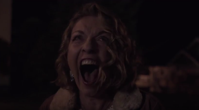 <p>It's been three months, but we're still screaming about the enigmatic final scene of David Lynch's typically enigmatic <em>Twin Peaks</em> revival. Having saved Laura Palmer from the death that kicked off the series 25 years ago, Agent Cooper brings the woman he believes to be Laura back home. Only it isn't her home. Her intensely primal response to being in the wrong place and, possibly, the wrong time reverberates throughout those closing moments and continues to echo in our ears. —<em>EA</em><br>(Photo: Showtime) </p>