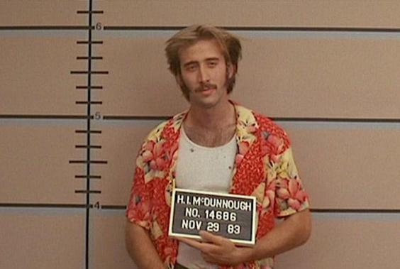 Nic Cage in 'Raising Arizona' (20th Century Fox)