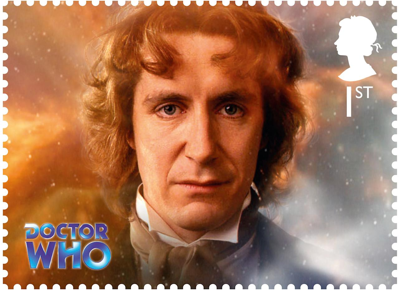 Doctor Who celebrates 50 years with Royal Mail stamps