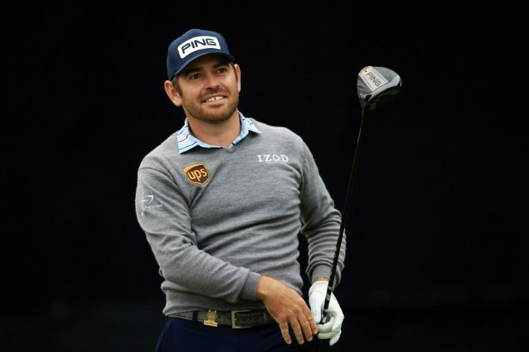 South African Louis Oosthuizen was 4-under after 16 holes to match US clubhouse leader Russell Henley in Thursday's darkness-halted first round of the US Open at Torrey Pines