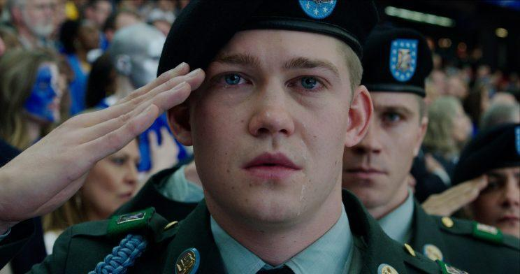 Joe Alwyn in 'Billy Lynn's Long Halftime Walk' (Photo: Sony)