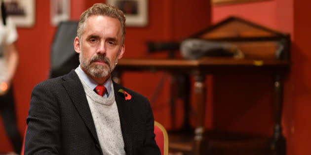 Portrait of Jordan Peterson at the Cambridge Union on Nov. 02, 2018.