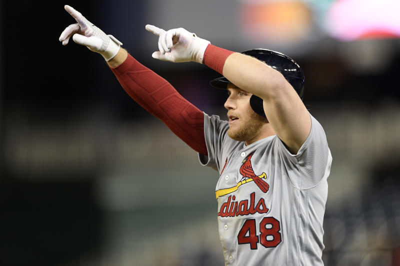 Cardinals score 6 in 5th inning to beat Nationals 6-3