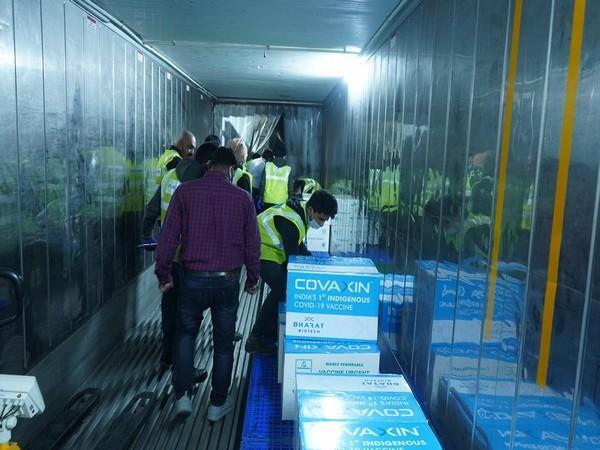 Bharat Biotech ships Covaxin to cities (Photo/ANI)