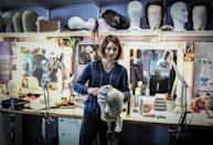 Every year, around 40 students train in skills such as costume making, wig design and tapestry, as well as lyrical singing and music, at the Paris Opera