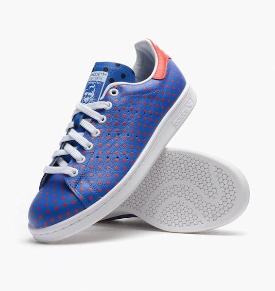 f58ad13fdf07 The special edition Stan Smith sneakers by adidas Originals and Pharrell  Williams are priced at  120