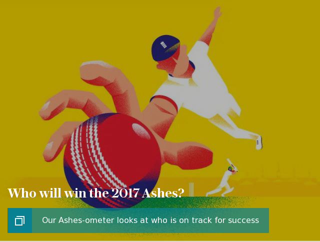 Who will win the 2017 Ashes? Ashes-ometer puff