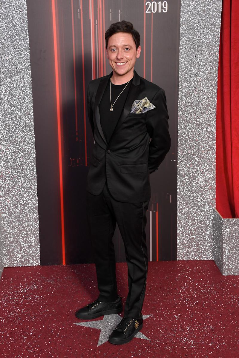 MANCHESTER, ENGLAND - JUNE 01: Ash Palmisciano attends the British Soap Awards at The Lowry Theatre on June 01, 2019 in Manchester, England. (Photo by Ian Gavan/Getty Images)