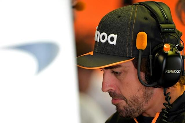 Alonso has unfinished business at the Indy 500 (AFP Photo/Andrej ISAKOVIC)