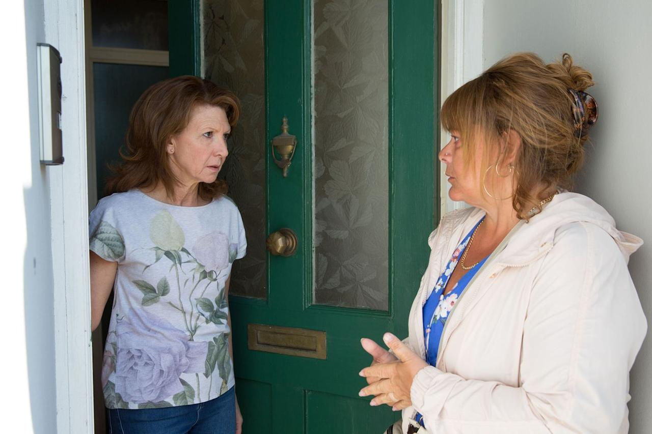 <p>Sophie is the mother of Shakil's killer Bruno. What does she want?</p>
