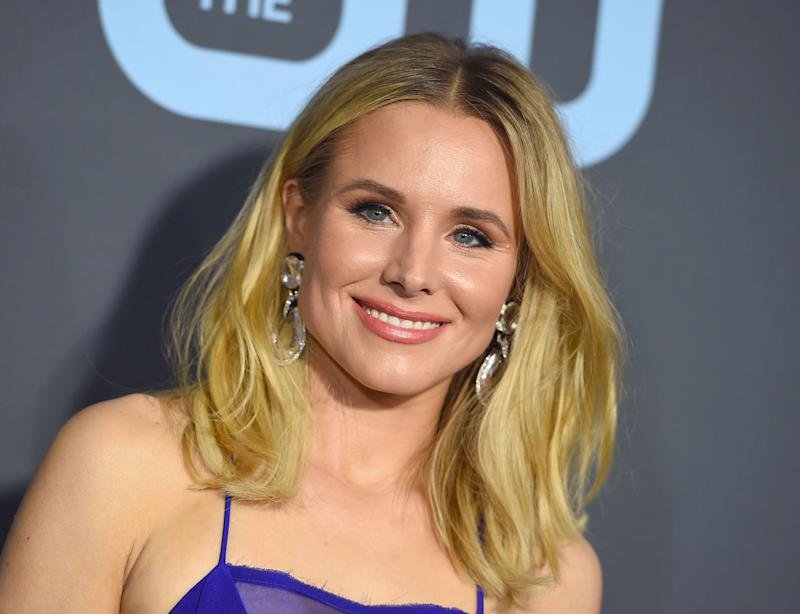 Kristen Bell arrives at the 24th annual Critics' Choice Awards on Sunday, Jan. 13, 2019, at the Barker Hangar in Santa Monica, Calif. (Photo by Jordan Strauss/Invision/AP)