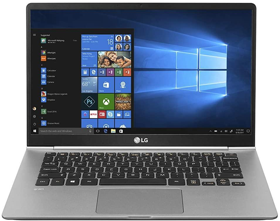 "Save 27% on the LG Gram 14"" Ultra-Light Laptop. Image via Amazon."