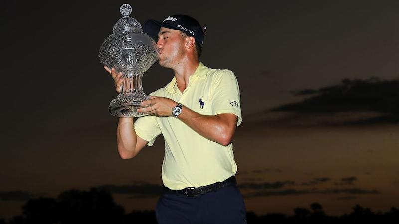 Thomas claimed the title after a sudden-death playoff. Pic: Getty