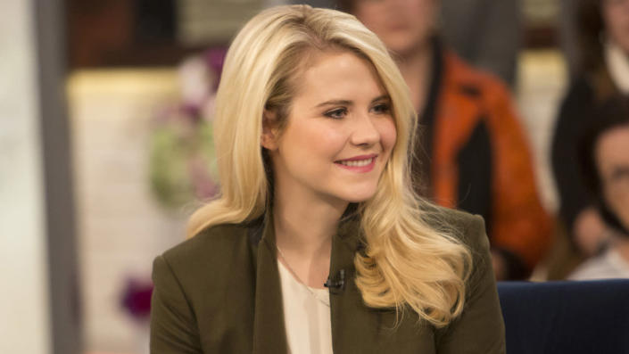 """Kara Robinson said fellow survivor Elizabeth Smart (pictured here) encouraged her to share her story for the documentary. <span class=""""copyright"""">Getty Images</span>"""