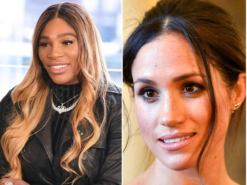 <p>Serena Williams slams 'pain and cruelty' Meghan Markle describes in Oprah interview</p> (Getty Images)