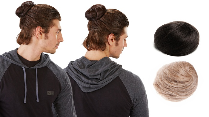 "<p></p><p>Most women can identify with the struggle of growing out your hair but we often forget that men can encounter this problem too. Not every dude is blessed with a flowing mane like David Beckham, Jared Leto or Chris Hemsworth. So to help the follically-chanllenged, Groupon offered the clip in man bun (available in blonde, brown and black). I<span>ts description reads, ""</span><span>This attachable—and, equally important, detachable—man bun lets you blend in with your surroundings, putting it on when you smell fair-trade coffee or hear a banjo, and taking it off when someone utters the word bro."" <em>(Photo: Groupon)</em></span> </p><p></p>"