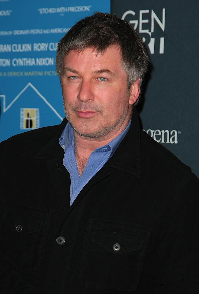 """<a href=""""http://movies.yahoo.com/movie/contributor/1800019239"""">Alec Baldwin</a> at the 14th Annual Gen Art Festival screening of <a href=""""http://movies.yahoo.com/movie/1808744530/info"""">Lymelife</a> - 04/01/2009"""